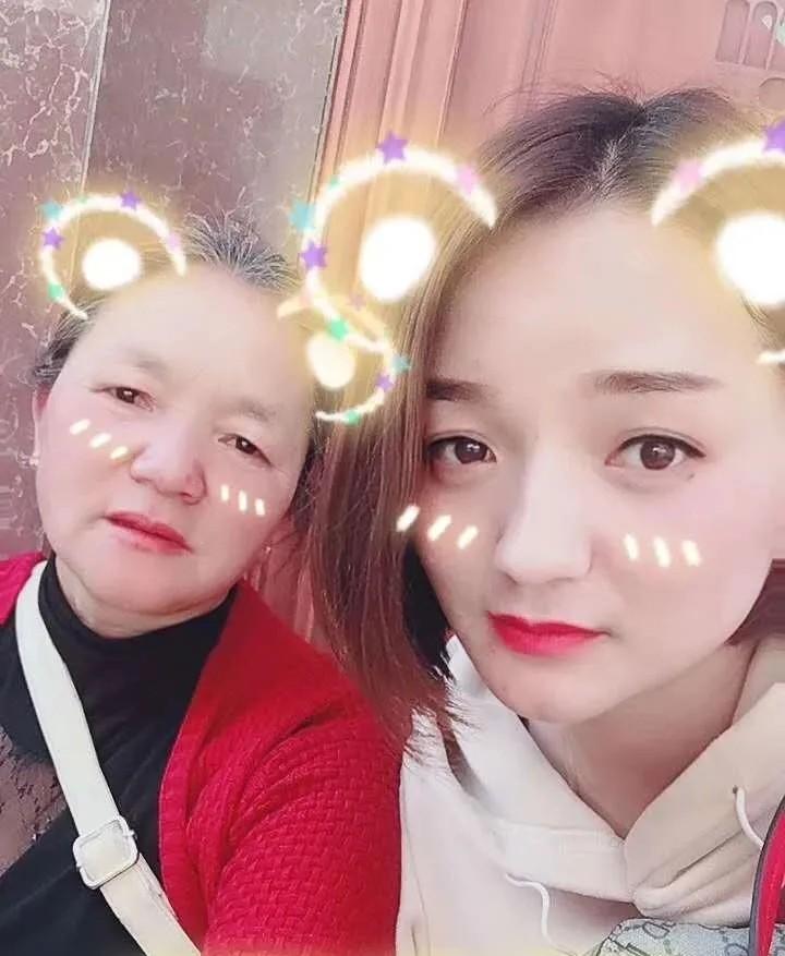 张芸与母亲